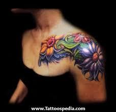 front shoulder tattoos
