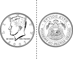 one dollar coloring page alltoys for