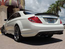 2009 mercedes cl63 amg 2009 mercedes cl63 for sale designo edition white on white 27k