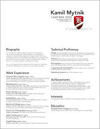 graphic artist resume best template collection