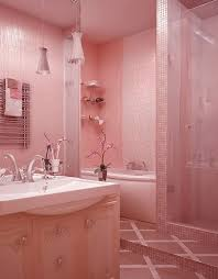 what color goes with pink tile bathroom baby pink bathroom tiles