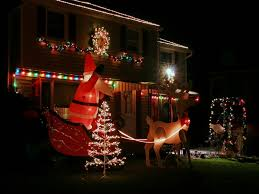 Christmas Lights On House by Christmas Lights Easy On The Eye Christmas Lights To Music