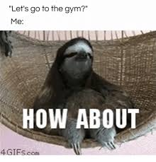 Sloth Fitness Meme - 25 best memes about going to the gym going to the gym memes