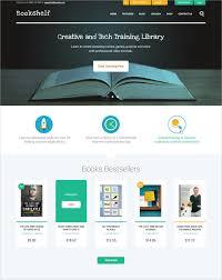 30 book store website themes u0026 templates free u0026 premium templates