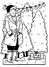 advent calendar 4 christmas coloring pages christmas tree farm