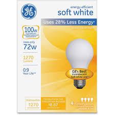 lighting energy eff soft white 72w a19 bulb walmart com