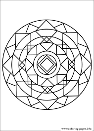 simple free mandalas 12 coloring pages printable