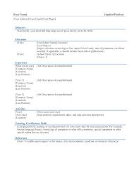 Resume Template Windows 7 create free resume templates windows 7 resume template resume