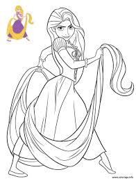Coloriage Princesse Disney Raiponce Dessin intended for Coloriage