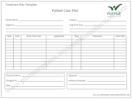 wound care plan template care plan template