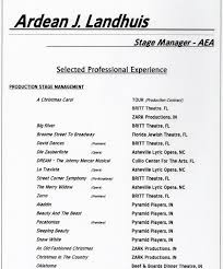 Stagehand Resume Examples by Resume Cover Letter Introduction Resume Cover Letter Personal