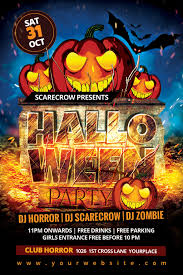 halloween party flyer by dilanr on deviantart