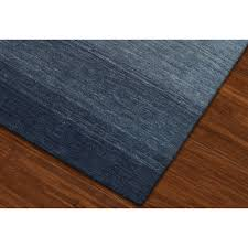 Blue Ombre Rug 8 X 10 Large Ombre Navy Blue Area Rug Torino Rc Willey