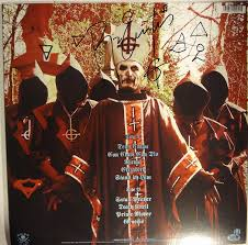 signed ghost opus eponymous picture disc lp papa emeritus ii full