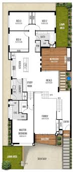 house plans by lot size uncategorized house plan for a narrow lot top stunning small plans