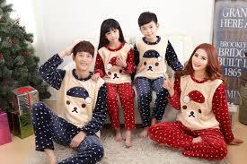 winter family pajamas flannel boys pajamas
