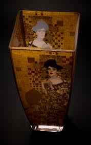 Bauer Vase Gustav Klimt Glass Vase Adele Bloch Bauer