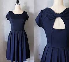 dress 50s style 50s style vintage retro party dress blue