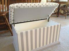 upholstered toy chest diy i need one think drock could make one