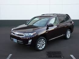 toyota highlander hybrid 2012 2012 toyota highlander hybrid drive highest mpg with third row