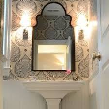 Wallpapered Bathrooms Ideas Small Bathroom Makeover The Full Before U0026 After With Free Handed