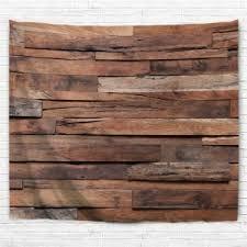 vintage wood plank wood color w91 inch l71 inch vintage wood plank print wall
