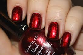 kleancolor metallic red collection pinterest nail polish