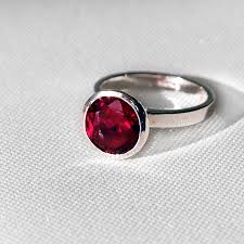 ruby red rings images Ruby red cocktail ring by sallyanne lowe jpg
