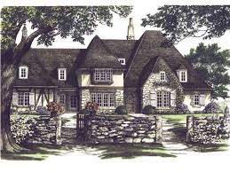 Average Square Footage Of A 4 Bedroom House Eplans Tudor House Plan Provence 3741 Square Feet And 4