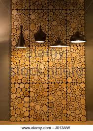 cut wooden rings decoration wall panels closeup wood slice