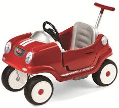 Radio Flyer Push Buggy Amazon Com Radio Flyer Steer U0027n Stroll Coupe Toys U0026 Games