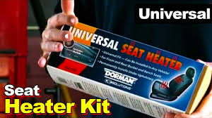 Car Seat Upholstery Repair Melbourne Universal Seat Heater Kit Installs In Any Car The Permanent Cure