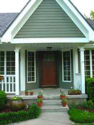 craftsman style house mission doors overhang of pourch arts and