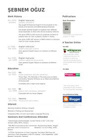 Online Instructor Resume by English Instructor Resume Samples Visualcv Resume Samples Database