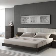 modern wood beds allmodern