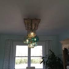 glass fishing float pendant light 19 home lighting ideas vintage fishing and lighting