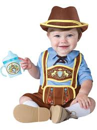 newborn boy halloween costumes amazon com incharacter costumes baby boys u0027 little lederhosen
