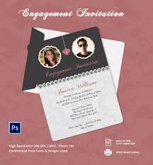 Invitations Cards Free Wonderful Simple Engagement Invitation Cards 94 About Remodel