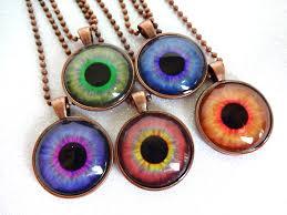 eye charm necklace images Eye necklace eyeball necklace eye jewelry third eye jpg