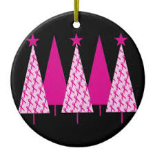 breast cancer ornaments keepsake ornaments zazzle