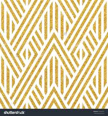 geometric striped ornament vector gold seamless patterns modern