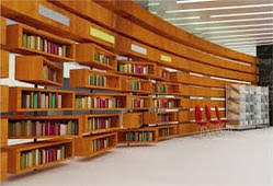Library Interior Designing In India - Library interior design ideas