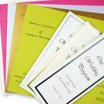 program paper tri fold program paper business mate