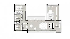 shaped one story house u shaped house plans garden home floor