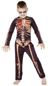 scream halloween costumes kids skeleton costumes mega fancy dress