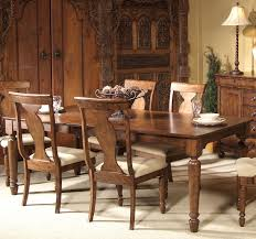 rectangular leg dining table with leaf by liberty furniture wolf