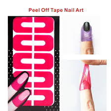 peel off nail art choice image nail art designs
