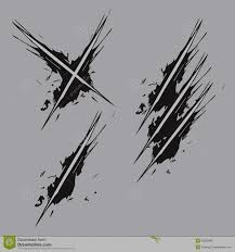 scratch vector stock vector illustration of laceration 39352580