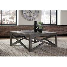 rustic square coffee table rustic charcoal brown square coffee table haroflyn rc willey