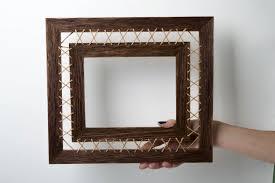 madeheart u003e homemade home decor photo frame wall hanging wooden